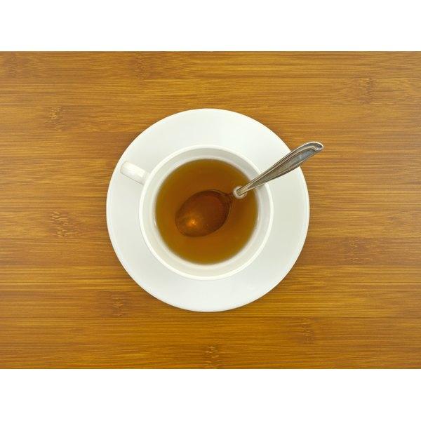A cup of ginseng tea.