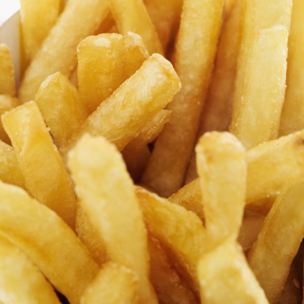 French fries are not a good choice when you have gastritis.