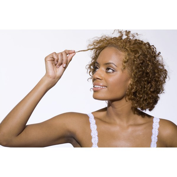 If your perm is a little too curly, wash it with shampoo as soon as possible.