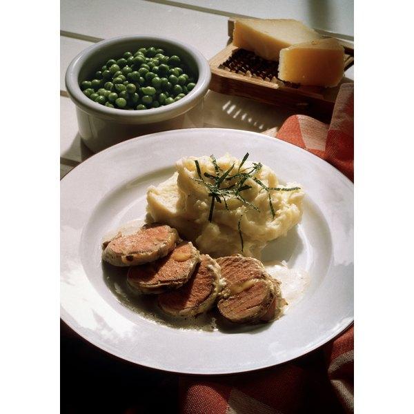Serve pork tenderloin at a family dinner.