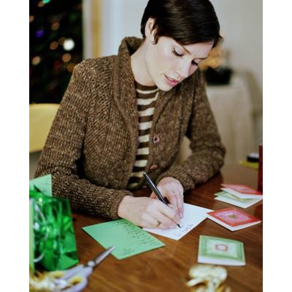 Proper Etiquette For Signing A Greeting Card: Etiquette For Signing Names On Cards