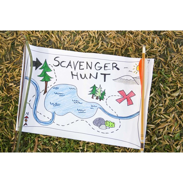 The Amazing Race theme is similar to that of the scavenger hunt.