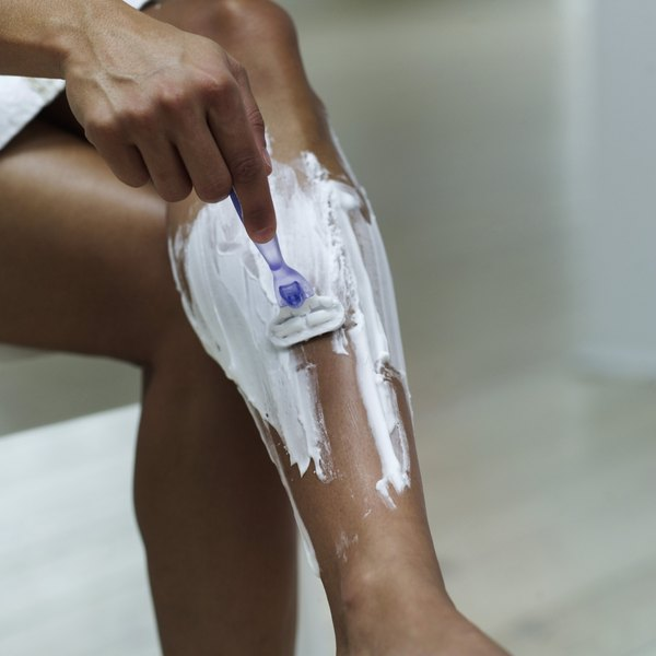 Know how to shave your legs without causing ingrown hairs.