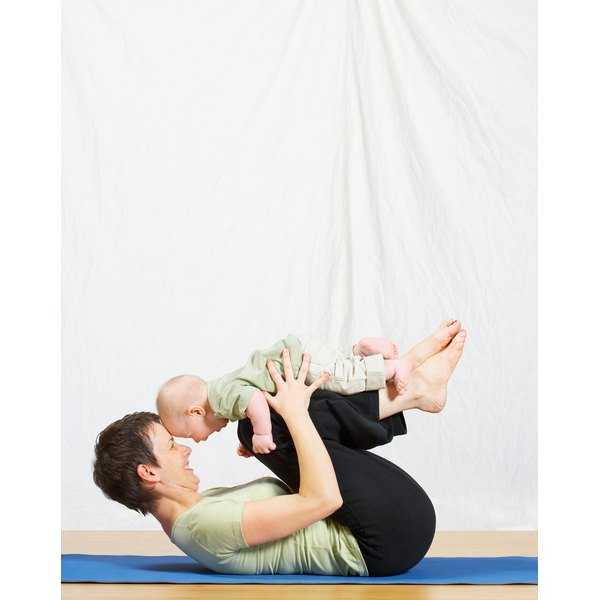 Bring your baby with you when you exercise.