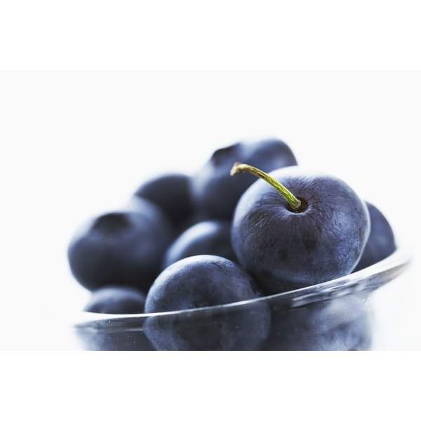 Blueberries contain more antioxidants than raisins.