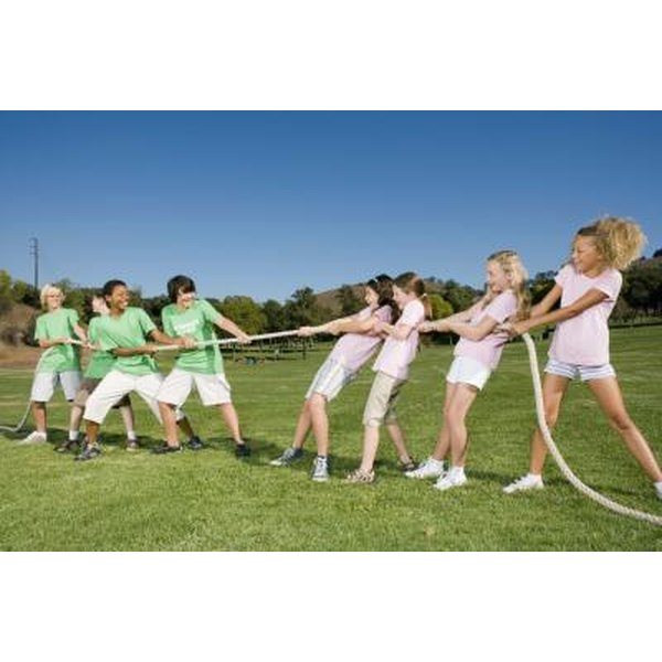 Cohesive Team-Building Exercises for Teens | Synonym
