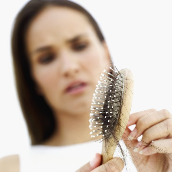 Hair loss may be caused by too much or too little zinc in your diet.
