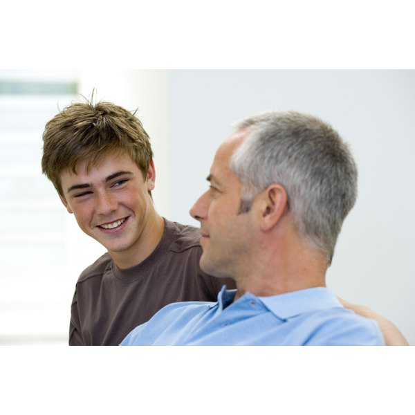 Being a good example will help your teen learn to treat his peers with respect.