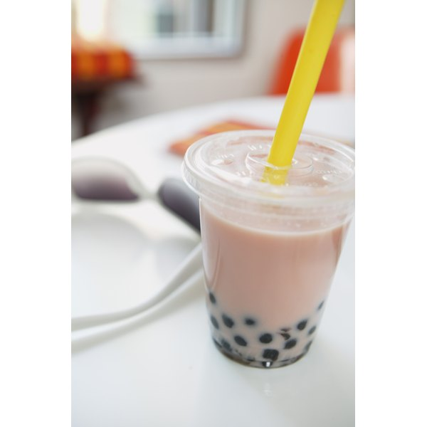 Use only large tapioca pearls, not the small or instant variety, in boba tea.