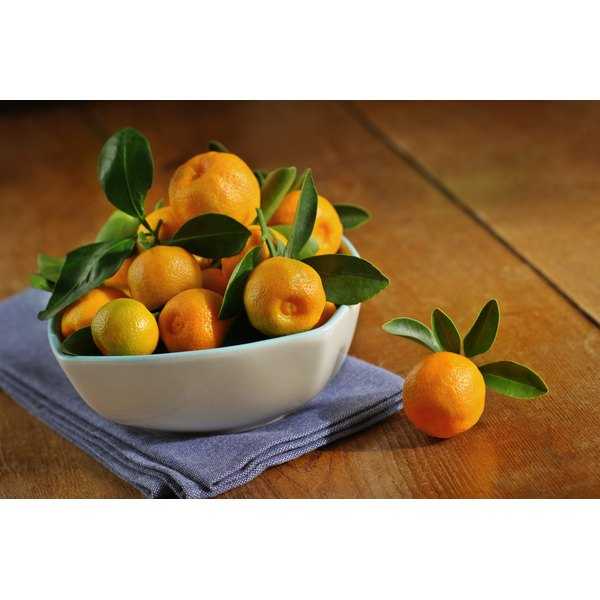 A large bowl of calamondins.