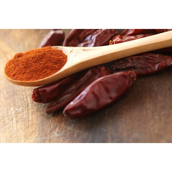 Red cayenne pepper powder.