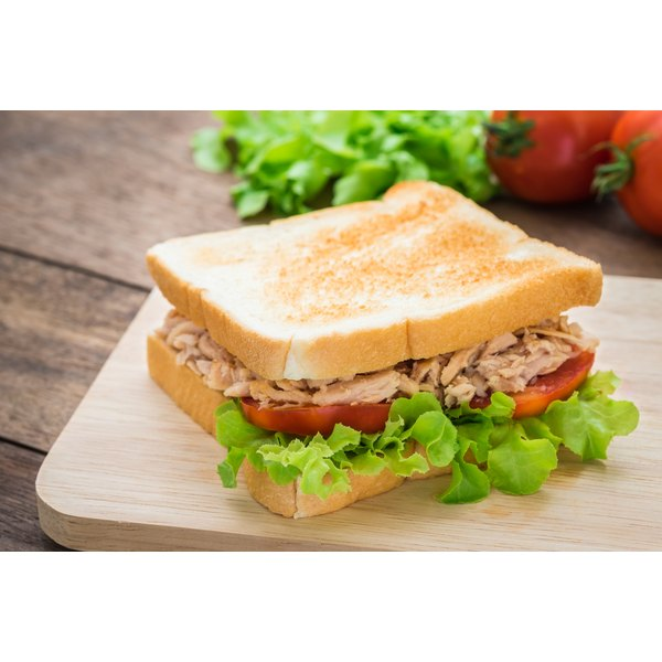 Fresh tuna is a source of omega-3 fatty acids.