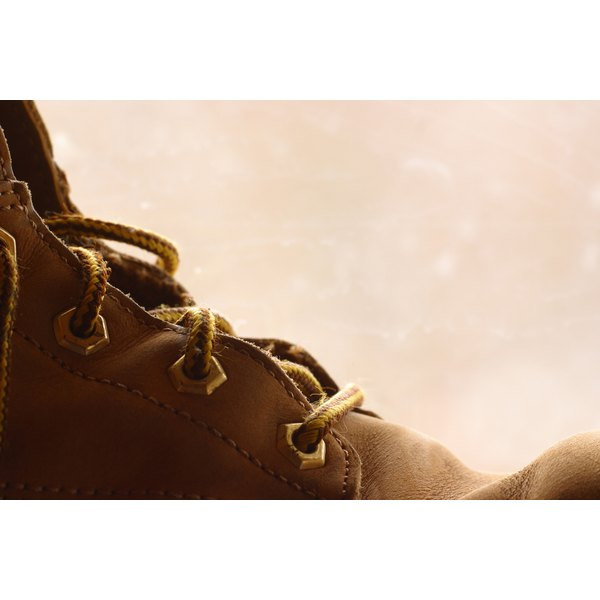 Water-damaged boots can be fixed and waterproofed to avoid future damage.