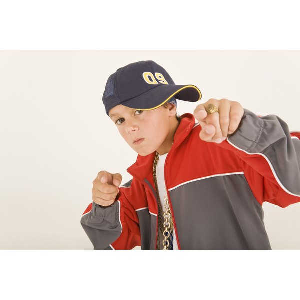 Your child may want to dress like this, but the desire to emulate a favorite rapper may end there.