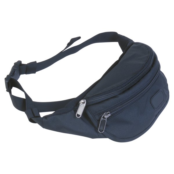 Fanny-pack buckles are plastic and may eventually need replacing.