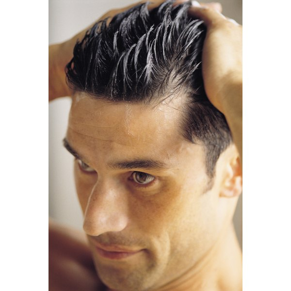 Use hair gel correctly to achieve a strong, natural look.