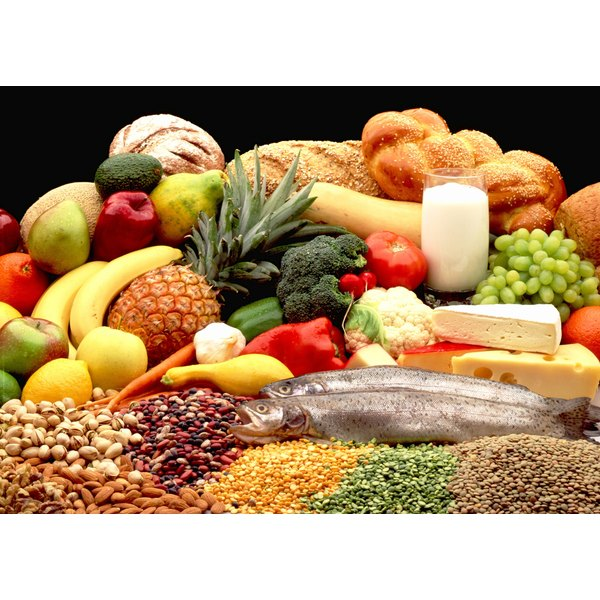 Up your nutrient intake eating a variety of foods from all the food groups.