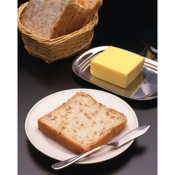 A bread and butter diet offers many nutritional benefits.