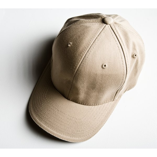 Softening a structured hat will make it more comfortable to wear.