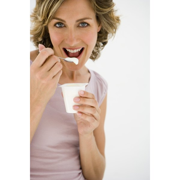 Many brands of yogurt contain probiotics.