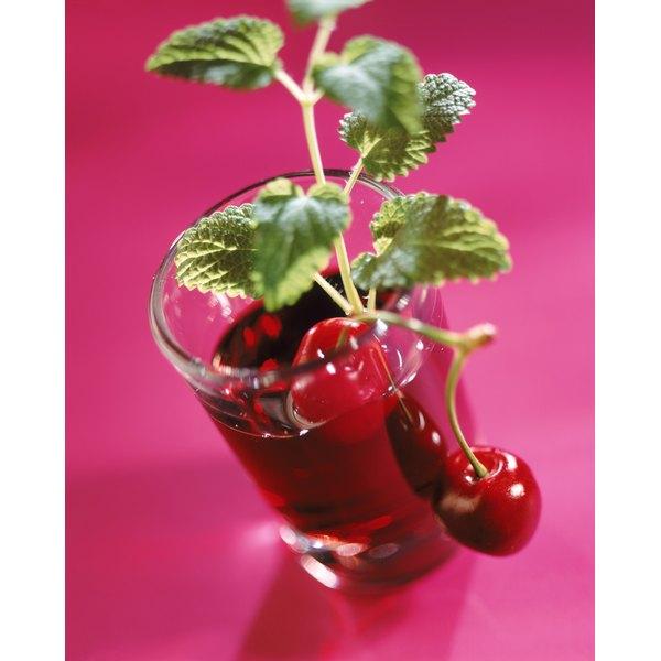 Tart cherry juice may help lessen gout symptoms.