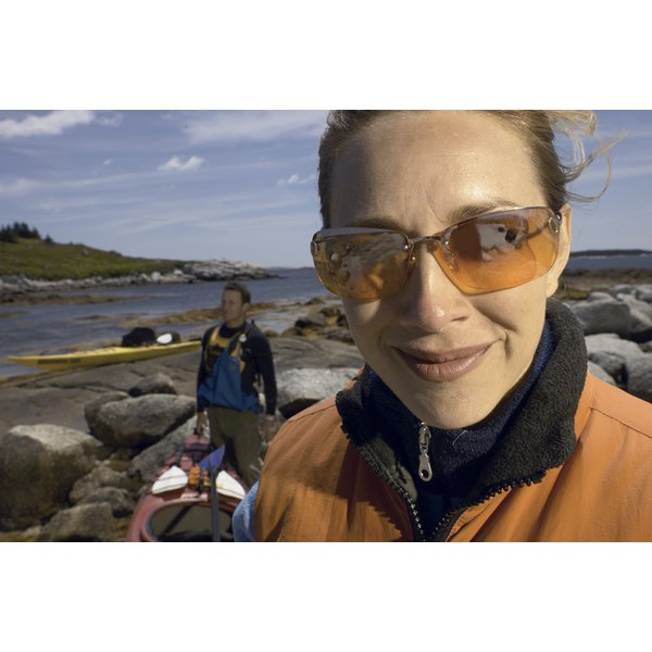 A great pair of sunglasses protects your eyes from harsh UV radiation when you're on the water.