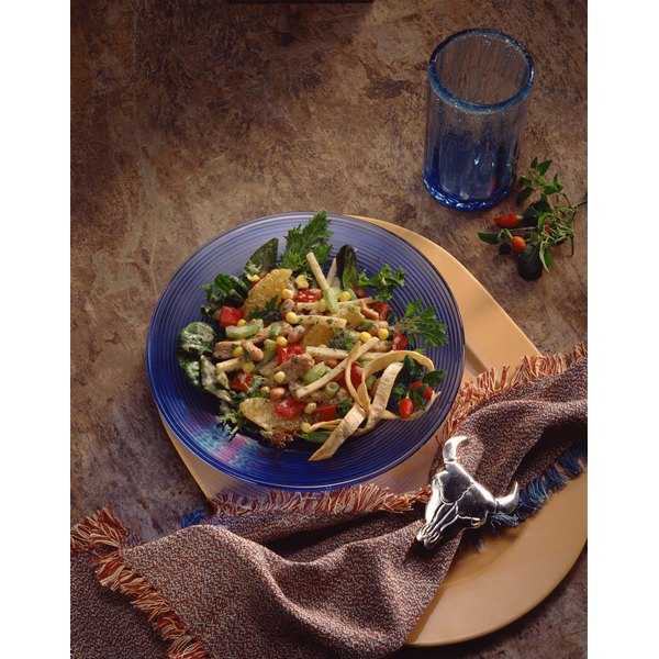 Add chickpeas to salads to boost the nutritional content.