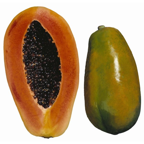 Papaya makes a nourishing mask for your skin.