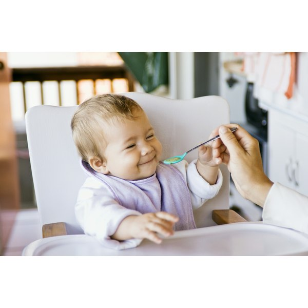 Your baby's nutritional needs vary according to his age,