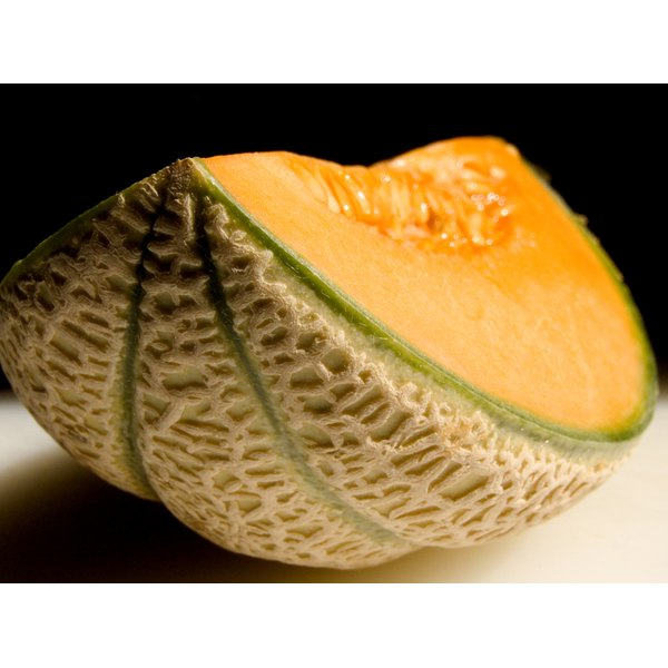 Muskmelon is a healthy food.