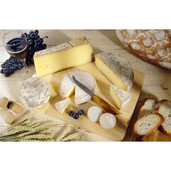 Many types of cheeses range in nutritional value and fat content.