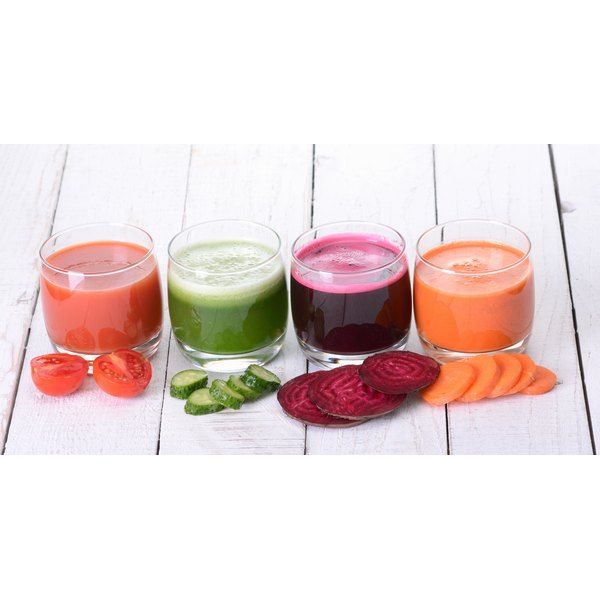 Smoothies allow you to load up on fruits and vegetables.