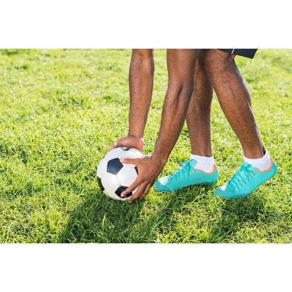 Removing scuffs from your soccer cleats will keep them looking new.