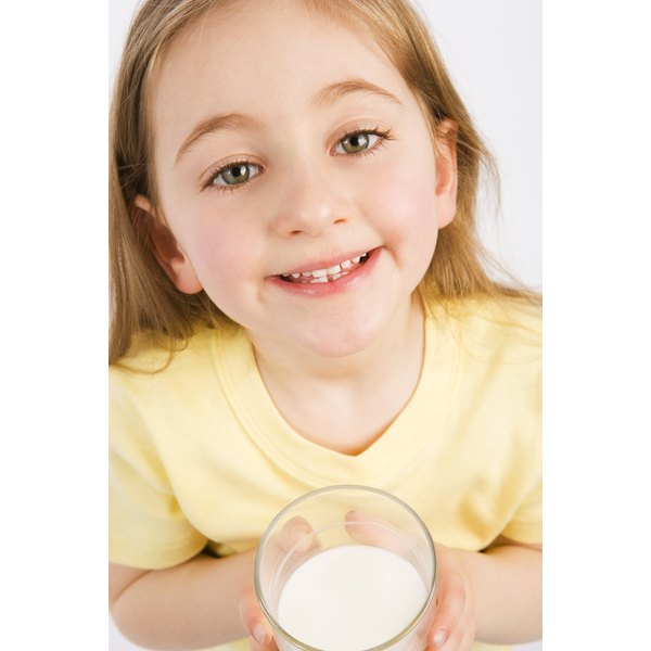 Dairy products provide a good source of calcium and vitamin D.