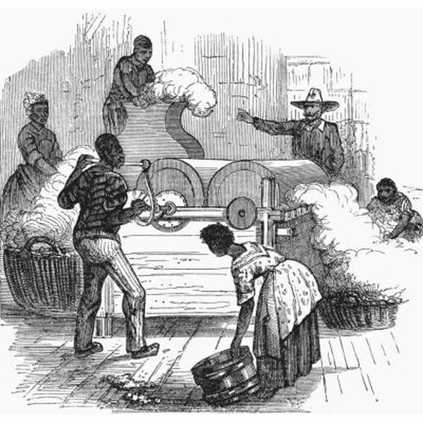 relationship between cotton gin and slavery