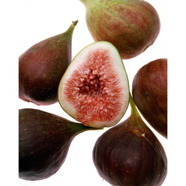 Figs have a tough exterior and sweet interior flesh.