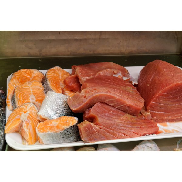 Oily fish contains both amino acids and fish oil.