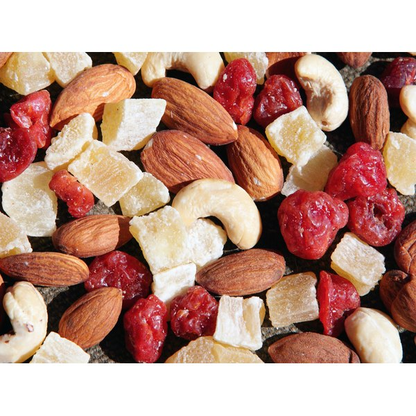 Fruit and nut mix.