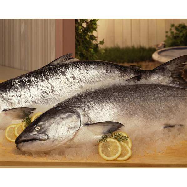Salmon may contain potentially harmful toxins, but substances in cans may also pose health risks.