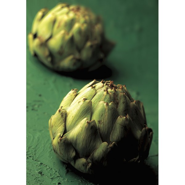 The most tender artichokes are small and round.