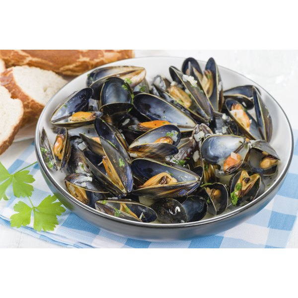 Clams are a rich source of iron.