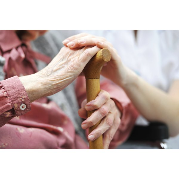 Elder abuse may happen at home as well as in a nursing home.