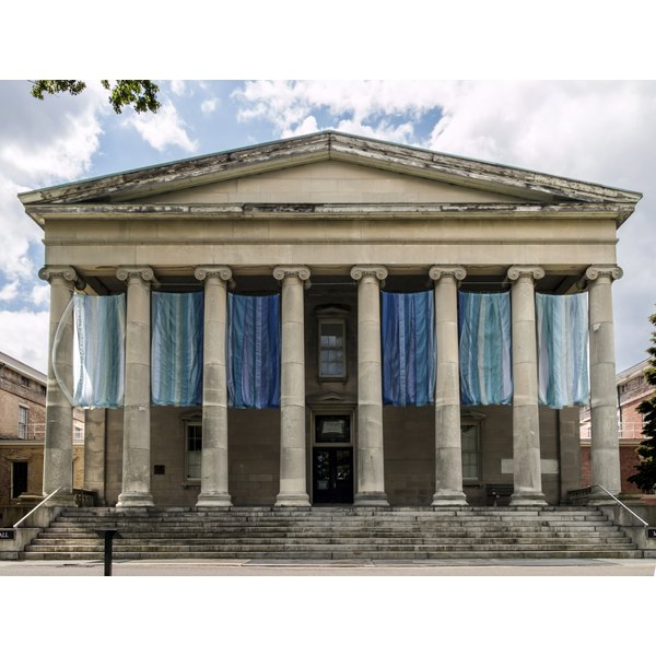 greek architecture on modern buildings in the u s synonym