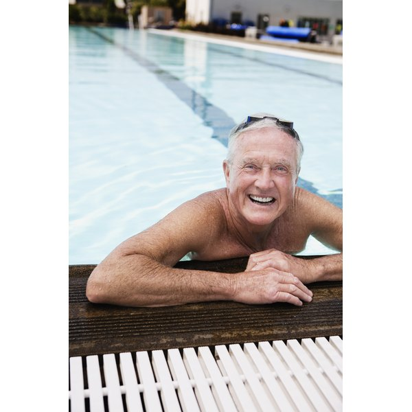 Swimming is a low-impact exercise that is easy on the joints.