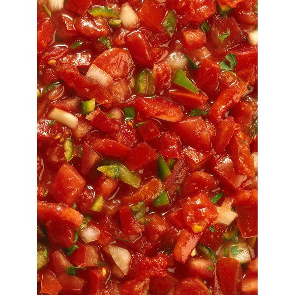 Add pico de gallo to your favorite meal to increase your consumption of antioxidants.