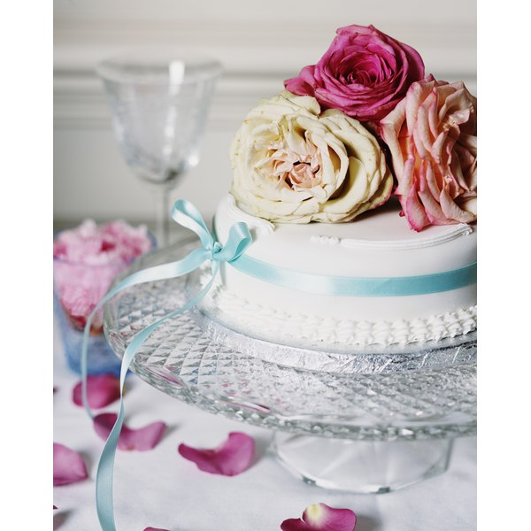 If you can't make flowers out of frosting, consider using the real thing.