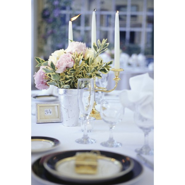 Take family feuds into account when arranging seating at your wedding reception.