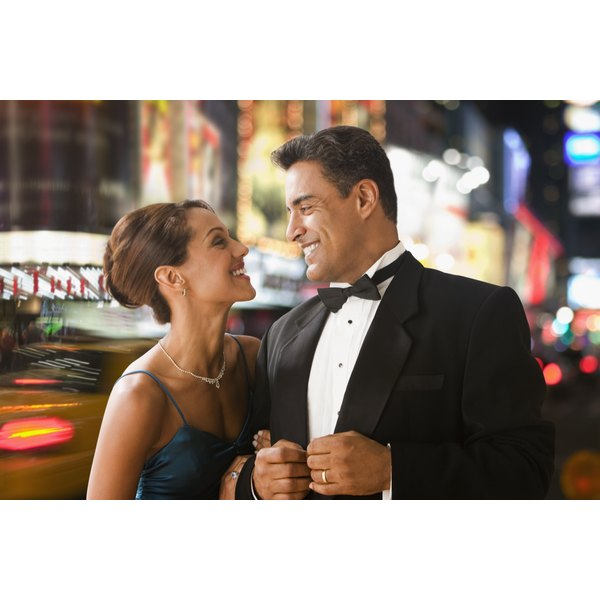 Black tie optional wedding etiquette our everyday life classic black tie calls for a tux and formal gown junglespirit