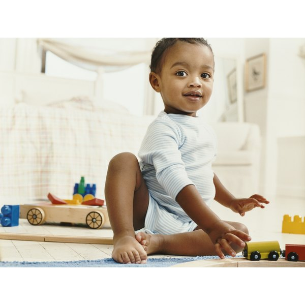Dramatic play helps infants learn about the world.