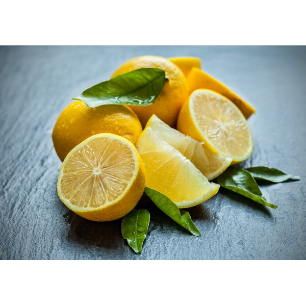 Fresh lemon juice is a natural remedy to fade age spots.